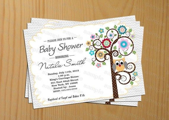 Gender Neutral Baby Shower Invitations   christmanista.com
