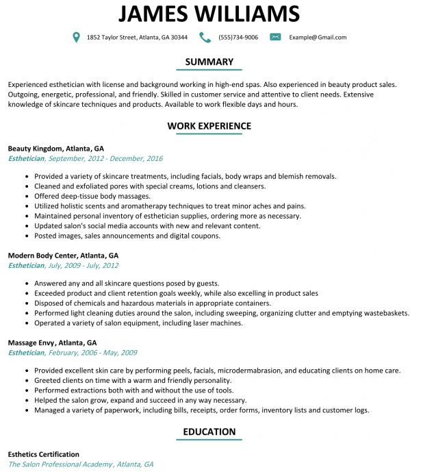 Curriculum Vitae : The Best Sample Of Resume How To Write A Resume ...