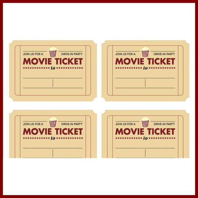 Movie ticket template free 40 free editable raffle movie ticket movie ticket template cyberuse pronofoot35fo Images