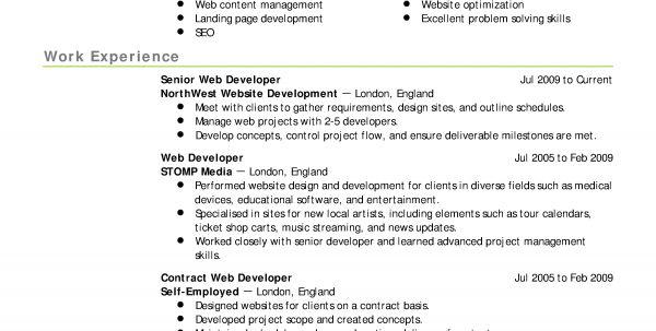 web designer resume samples brand ambassador resume sample format ...