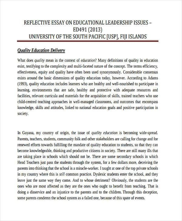 10+ Reflective Essay Examples, Samples
