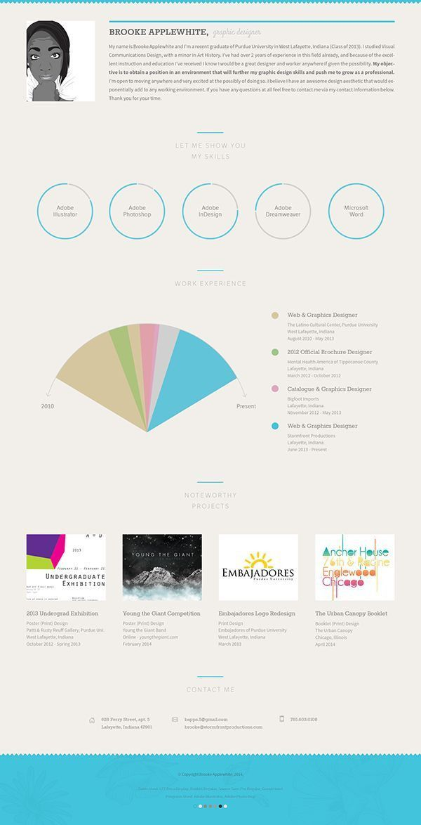 282 best Resumes images on Pinterest | Resume ideas, Creative ...