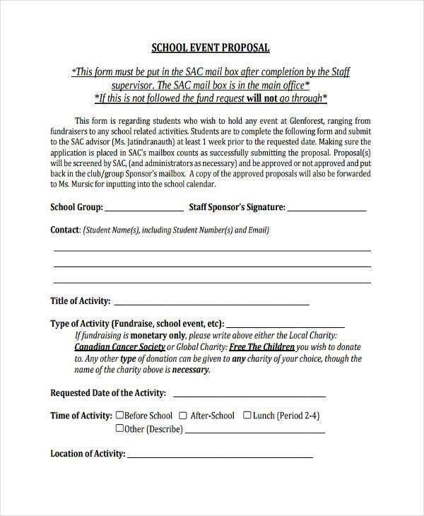 How To Write An Event Proposal [Nfgaccountability.com ]