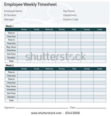 Time-sheet Stock Images, Royalty-Free Images & Vectors | Shutterstock