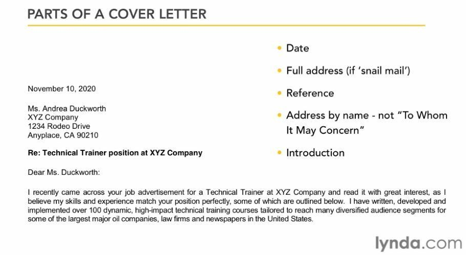 Letters - Resumes and Letters - Student Resources - Career ...