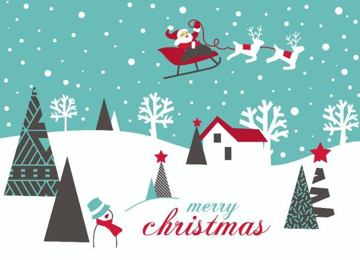 Christmas card by PurpleTrail.com. Link to fun Christmas party ...