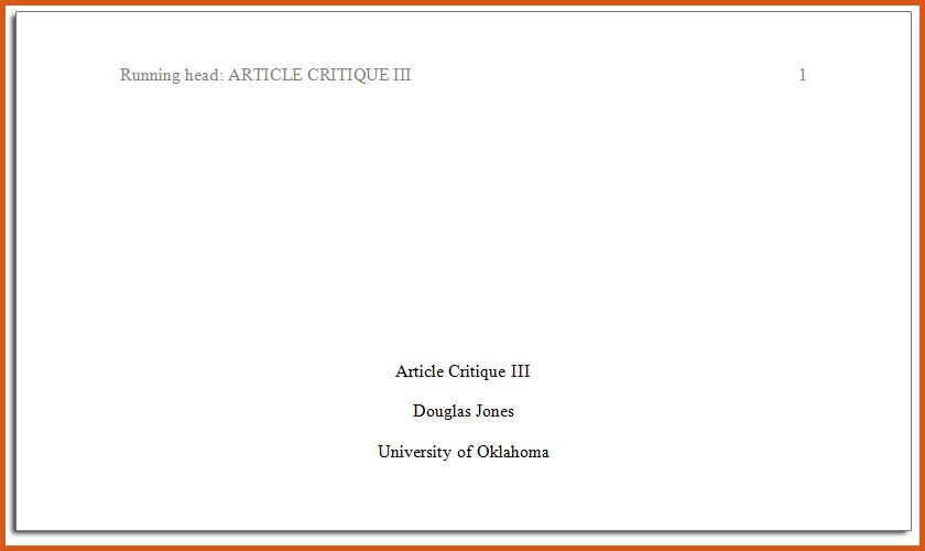 title page in apa format | general resumes