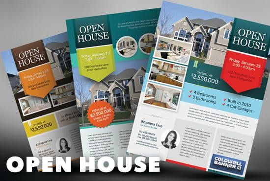 Design your real estate print ads by Khyile