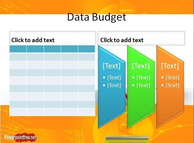 Powerpoint Budget Presentation Template - Tomyads.info