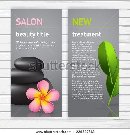 Sample Spa Menu Template. Reference For An Ongoing Project Salon .