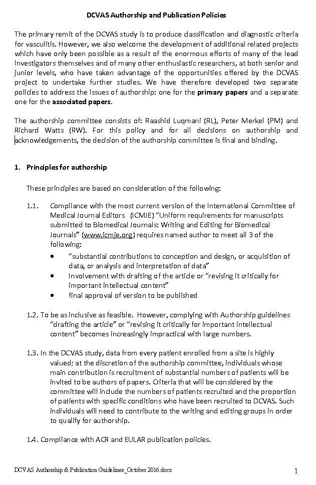 Research Proposals « DCVAS