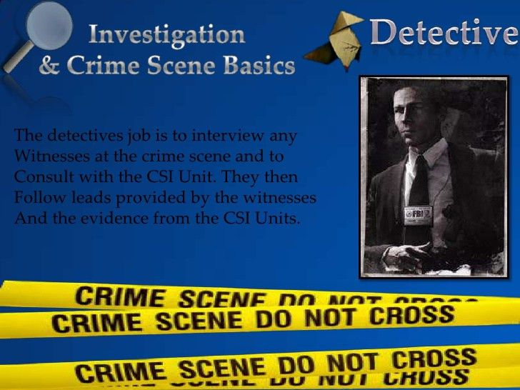 Investigation powerpoint