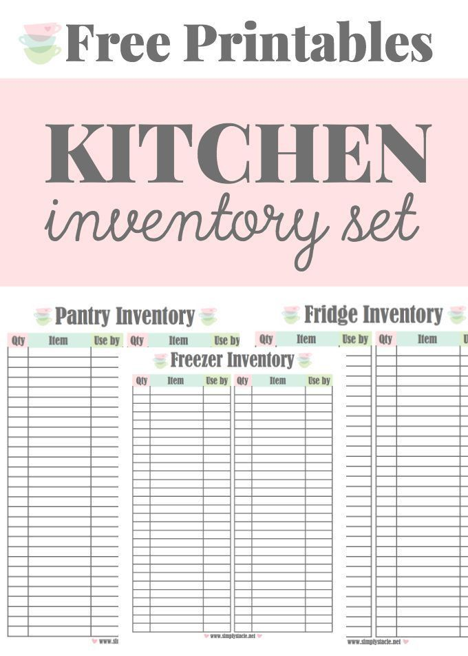 Best 25+ Pantry inventory ideas on Pinterest | Pantry inventory ...