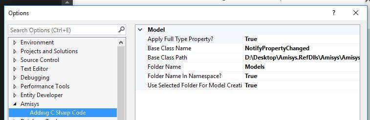 Amisys.POCOGenerator - Visual Studio Marketplace