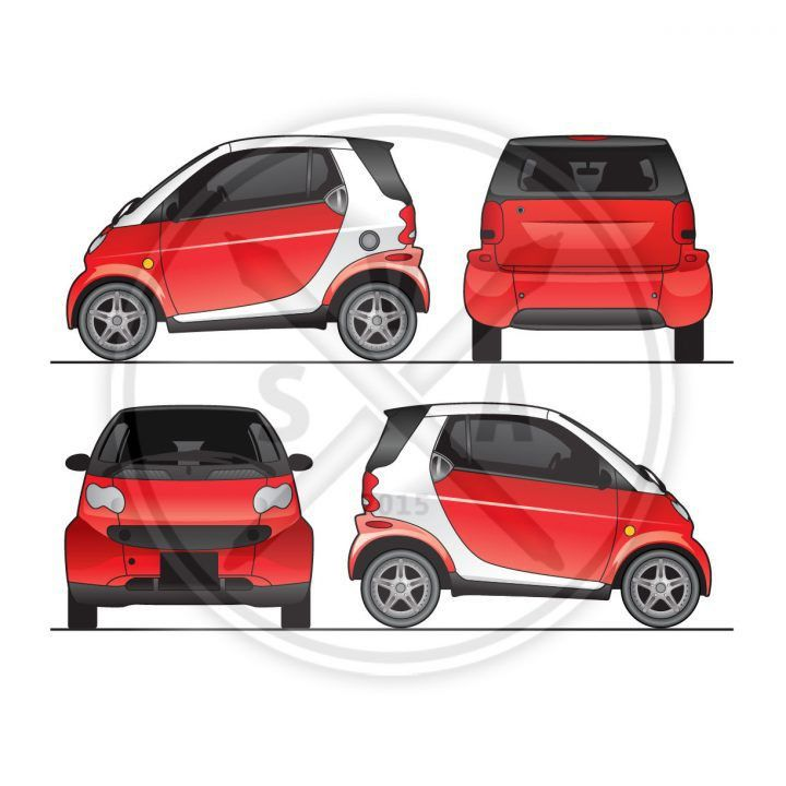 Blank Vehicles - Stock Vector Art