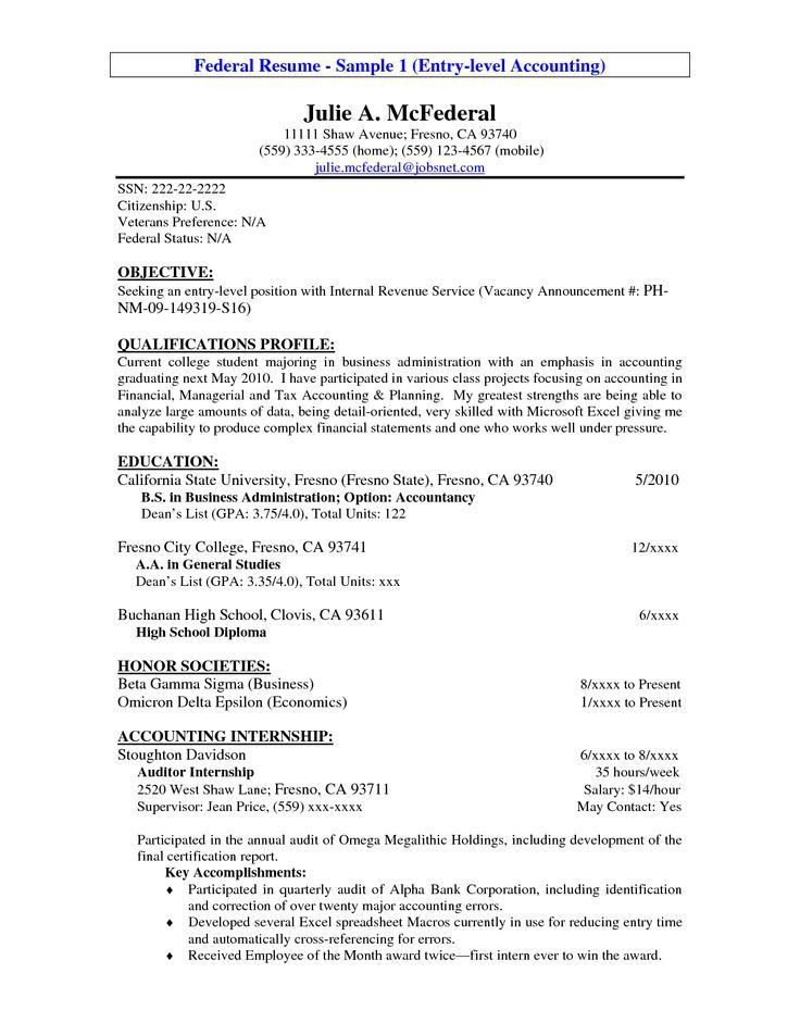 Career Objective Resume Examples Free Download ...