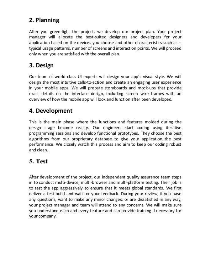Mobile App Development- Project Management Process