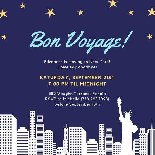 Farewell Party Invitation Templates - Canva
