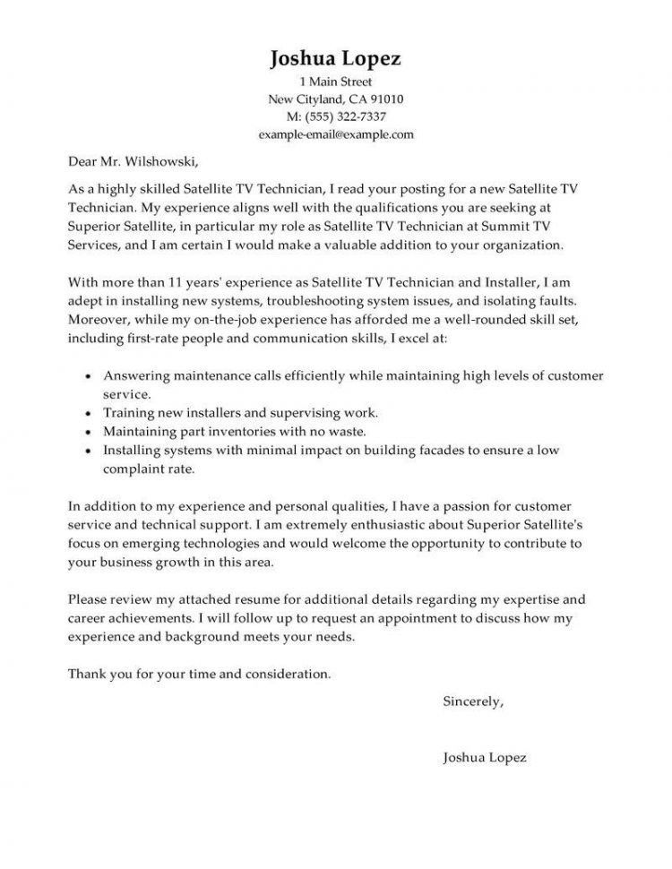 Auto Mechanic Cover Letter Examples Automotive Technician Cover ...