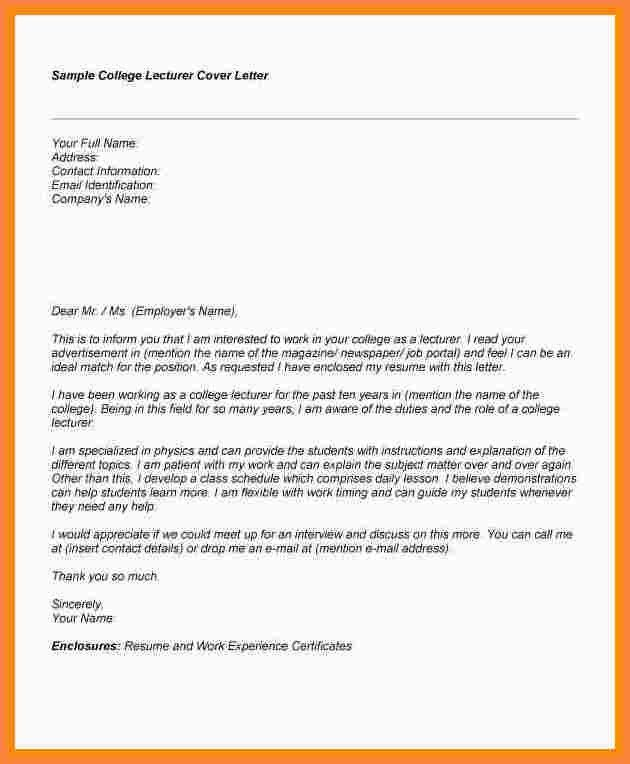 11+ college application cover letter | Recommendation Letters