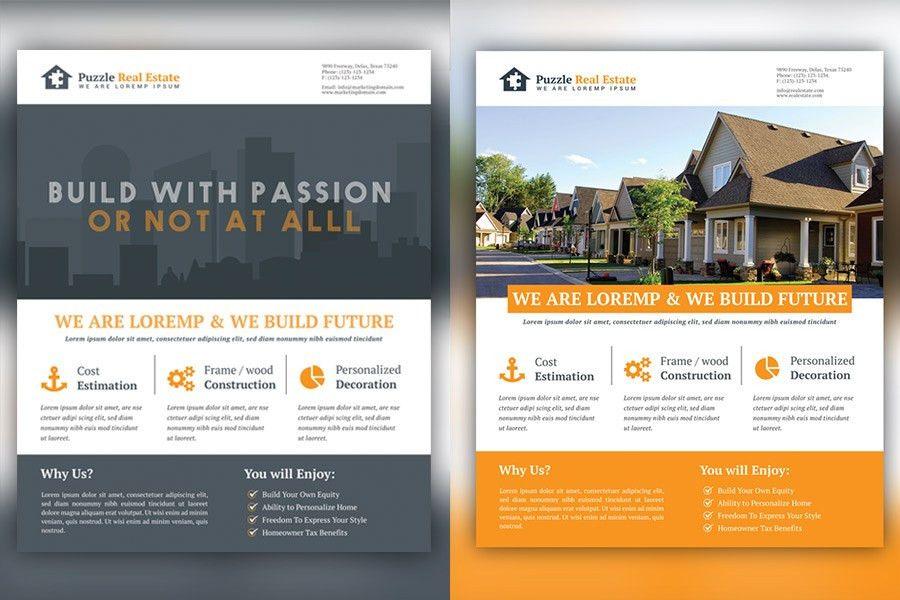 Rela Estate Marketing Flyer Tempalte
