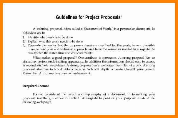 13+ project proposal formats | buyer resume