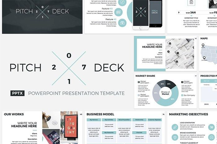 15 Powerpoint Pitch Deck Templates That Look Great in 2017