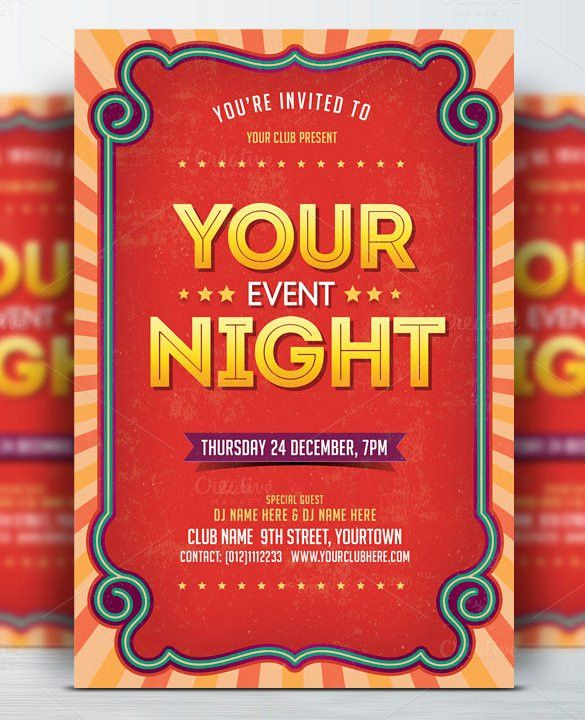 33+ Event Flyer Templates – Free PSD, AI, Illustrator Format ...