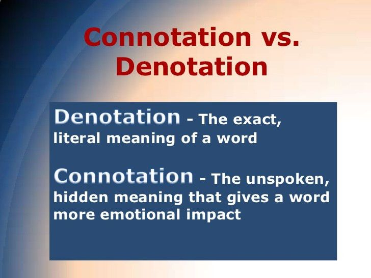 Word Choice: Diction and Connotations