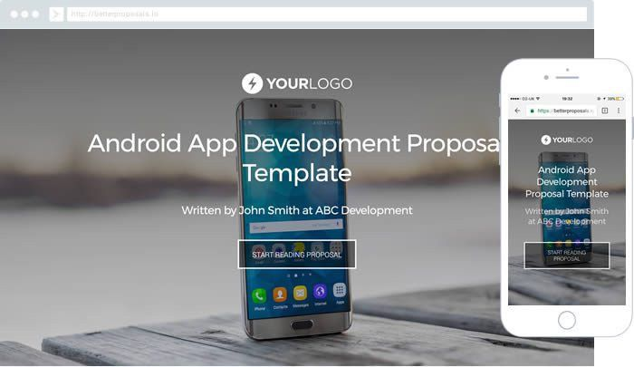 Free iPhone Mobile App Development Proposal Template - Better ...