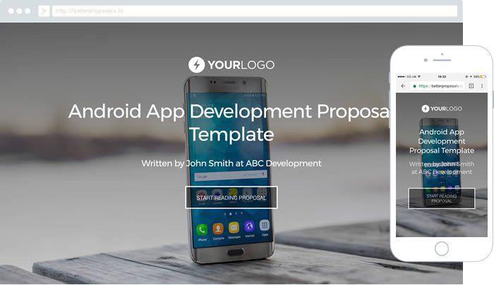 Free iPhone Mobile App Development Proposal Template - Better ...