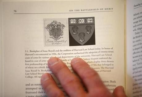 Meet the coauthor who shined a light on the Harvard Law crest ...