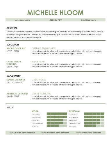 Download Contemporary Resume | haadyaooverbayresort.com