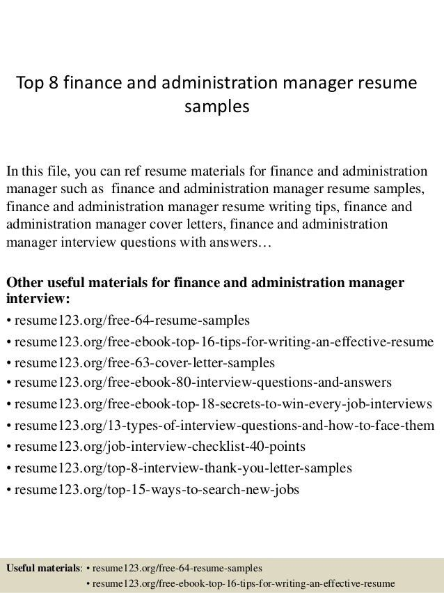 top-8-finance-and-administration-manager-resume-samples -1-638.jpg?cb=1428675090