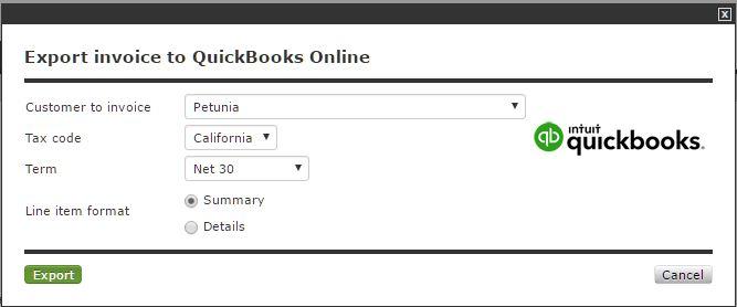 QuickBooks Online Integration | Invoicing with QuickBooks