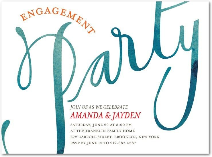 Engagement Party Invitation – gangcraft.net