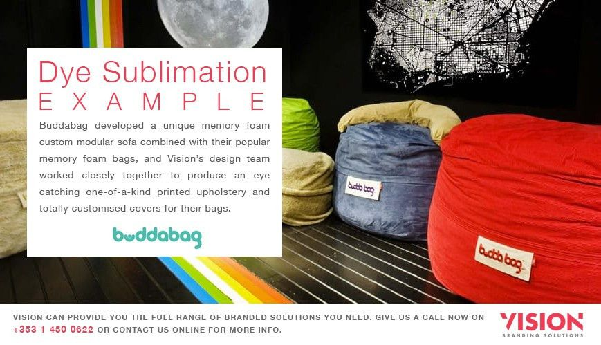 Why Use Dye Sublimation? | Vision Branding Solutions Dublin