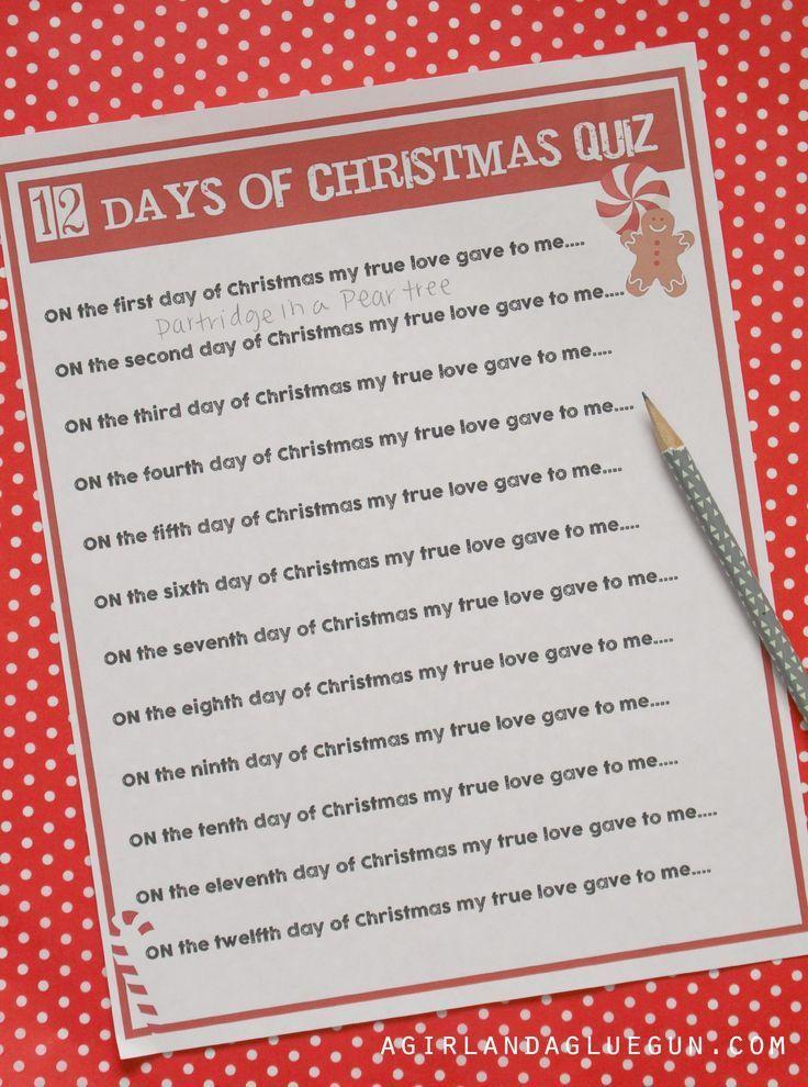 The 25+ best Christmas quiz ideas on Pinterest | Fun christmas ...
