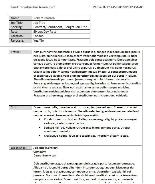 Resume Template Indesign 2015 - http://www.jobresume.website ...