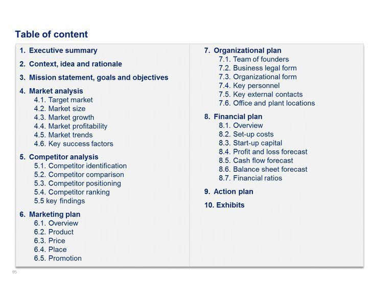 Market Analysis Example. Business Plan Examples Best 25+ Business ...