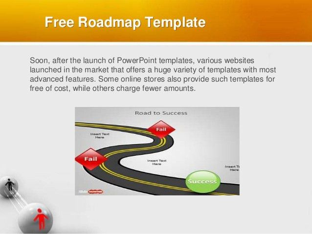 Free roadmap template product roadmap powerpoint template download free roadmap template toneelgroepblik Image collections