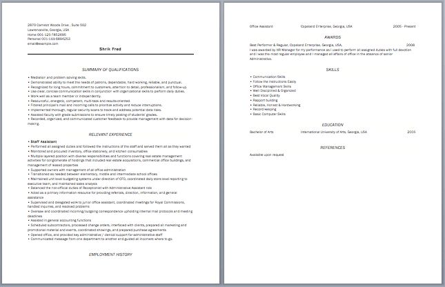 Chartered Accountant Resume | Accounting Resume Samples ...