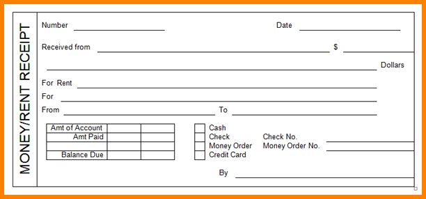 6+ check receipt template | resume reference
