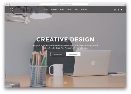 20 Best Multipurpose HTML5/CSS3 Website Templates 2017 - Colorlib