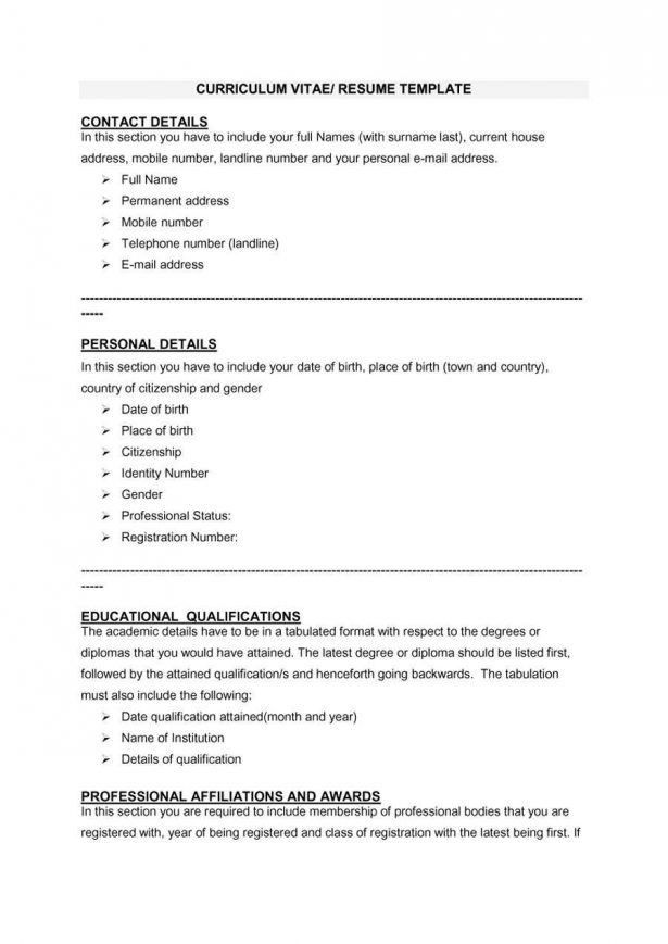 Resume : Copy Paste Resume Templates Interview Format Cv Place Of ...