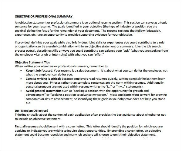 example of a professional summary on a resume resume professional