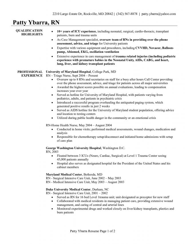 11 Labor And Delivery Nurse Resume Resume labor and delivery nurse ...