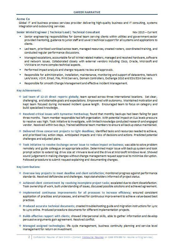 Professional Resume Sample   Professional Resume Templates
