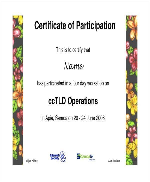 Sample Certificate - 43+ Examples in PDF, Word