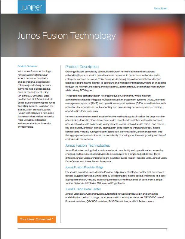 Network Design and Architecture Center: Data Center - Juniper Networks